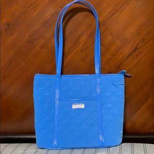Vera Bradley Small Trimmed Vera Coastal Blue